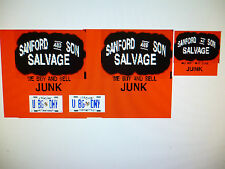 Sanford and Son Truck  Decals 1:18 Custom   FREE US SHIPPING