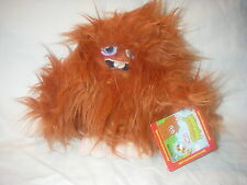 MOSHI MONSTERS FURI RARE PLUSH UNUSED SECRET CODE TAG 7 INCH NEW WITH TAG RARE