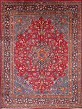 "Top Deal Traditional Floral 10x13 Mashad Persian Oriental Area Rug 12' 9"" x 9' 6"