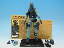 "GI Joe 25th Anniversary Resolute Shockblast (v2) 3.75"" Action Figure"