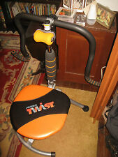 TWIST AB DOER A EXERCISE CHAIR  PICK UP ONLY THANE FITNESS + DVD & GUIDE BOOK