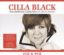 Cilla Black: The Definitive Collection (A Life In Music) New Region 2 DVD