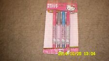 Hello Kitty Pack Of 4 Mini Gel Pens 54103 By Horizon Group USA New!!!