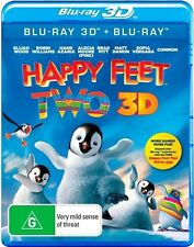 Happy Feet Two 3D : NEW Blu-Ray 3-D