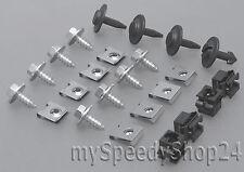 Unterfahrschutz Getriebeschutz Einbausatz Clips Audi A4 B5 Skoda Superb
