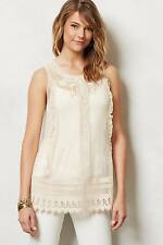 NEW Anthropologie Mesh Lace Sleeveless Tank by Moulinette Soeurs