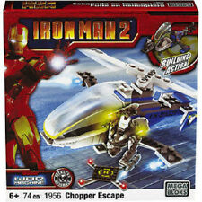 Mega bloks IRON MAN 2 War Machine Chopper Escape 1956  Factory Sealed New In Box