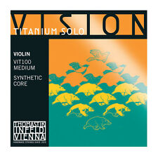 Thomastik Vision Titanium Solo(VIT100)Violin Strings Full Set 4/4 Free Shipping