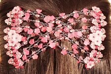 Magic Flower Double Comb Stretchy Pinky Hair Syling Clip brand NEW Spring Offer