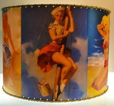 "Bathing Beauties Lamp Shade 16"" x 16"" Drum"