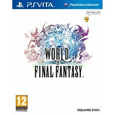 World Of Final Fantasy PS Vita Game Brand New