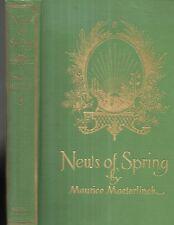 News of Spring by Maurice Maeterlinck. Illustrated by Ed. J. Detmold. N,.Y. 1917