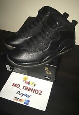 DS 2016 NIKE AIR JORDAN RETRO 10 X OVO Black SZ 11 NEW W/BOX AUTHENTIC DRAKE