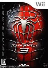 Used Wii SpiderMan 3  Nintendo JAPAN JP JAPANESE JAPONAIS IMPORT
