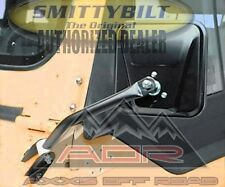 Smittybilt 7617 Side Mirror Pair Black No Drill Installation