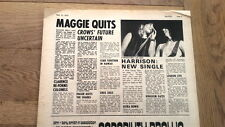 JIMMY McCULLOCH MAGGIE BELL Stone The Crows 'Maggie quits' 1973 ARTICLE/clipping