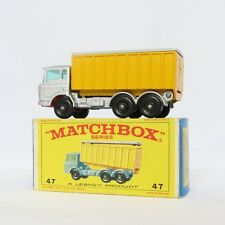 MATCHBOX MOKO LESNEY 47 DAF TIPPER CONTAINER TRUCK WITH ORIGINAL BOX