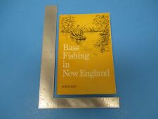 1973 Book, Bass Fishing in New England, Bob Elliot, Stone Wall Press, S1677