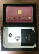 Used twice- Authentic MCM Pink wallet in Women's Wallets