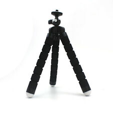 Black Mini Tripod Stand Portable Flexible for Gopro Camera SLR DV Canon Nikon