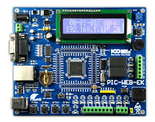 PIC Ethernet Development Board PIC-WEB-EK for PIC18F97J60 web server controller