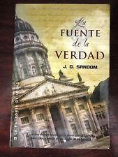 La Fuente de La Verdad,J.G.Sandom,Ed.la Factoria 2007