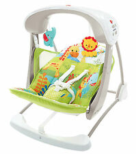 Fisher Price Rainforest llevar oscilación Y Asiento Silla De Bebé