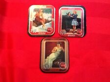 3 Rare Coca-Cola Phone Card Trays $10 Die Cut Tray Coke is Collectable