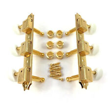 Gotoh Gold Strip Tuners for Vintage Gibson LP Jr./Junior® Guitar TK-0700-002