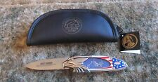 Franklin Mint Harley Davidson Collector Knife Ultimate Chopper  W/ Case EXC
