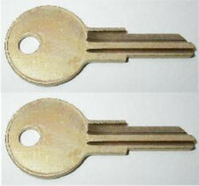 (2)Century Jason RV Truck Cap Replacement Keys Cut To Key Codes K125-K173
