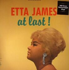 ETTA JAMES - AT LAST ! LP - Reissue pressed on 180 Vinyl - NEW AND SEALED