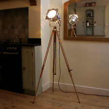 Wooden tripod for Short Polished Spotlight - TRIPOD ONLY !!!