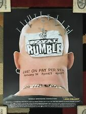 WWE WWF Vintage Royal Rumble 1998 Poster 16x20 Stone Cold