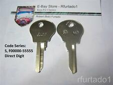 Key Blank for Vintage Peugeot 504 604 ign/door 1977 to 1983  (RE61F)