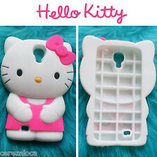 Funda Carcasa Silicona 3D Hello Kitty Samsung Galaxy S4 I9500