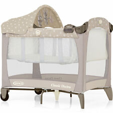 Graco Classic Electra Bassinet Travel Cot Baby Travel Bed, Bear & Friends