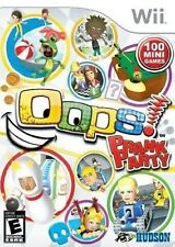 NINTENDO WII GAME OOPS! PRANK PARTY 100 MINI GAMES BRAND NEW & SEALED