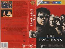 Vhs * The Lost Boys * 1987 Warner Collectors Series - Cult Classic Horror Movie!