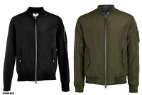 EX TOPMAN Men's MA1 Bomber Harrington Jacket Military Jacket Plus Size RRP £55