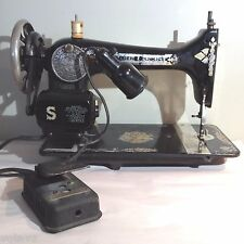 Singer Model 127 Hand Crank Sewing Machine Sphinx May 19, 1920