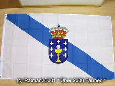 Fahnen Flagge Spanien Galicien Neu - 90 x 150 cm