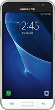 Samsung - Galaxy J3 (2016) 4G LTE with 16GB Memory Cell Phone (Unlocked) - White
