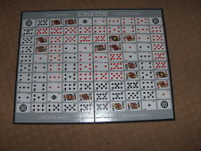SEQUENCE card game - game board ONLY - no dice, no cards, just board!  15x20