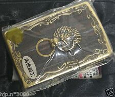 Zippo Dragon Beautiful Lighter with Natural Wood Collectible NOS Very Nice!!!