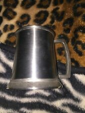 PEWTER BEER MUG OR TANKARD
