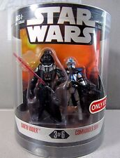 DARTH VADER / COMMANDER BOW Order 66 Target Excl STAR WARS 30th Anniv Figures