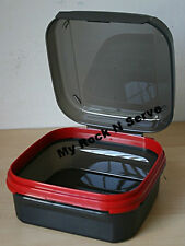 Tupperware Modular Mates Signature Line Flip Top Box 5 Cup/1.2L Sheer Black New