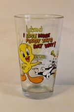 Tweety Bird & Sylvester 'TOON TUMBLER 16 oz.Pint Glass Looney Tunes