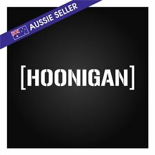 HOONIGAN Sticker Decal 20cm Monster Ken DC Drift Focus RS Vinyl JDM Stance Hoon